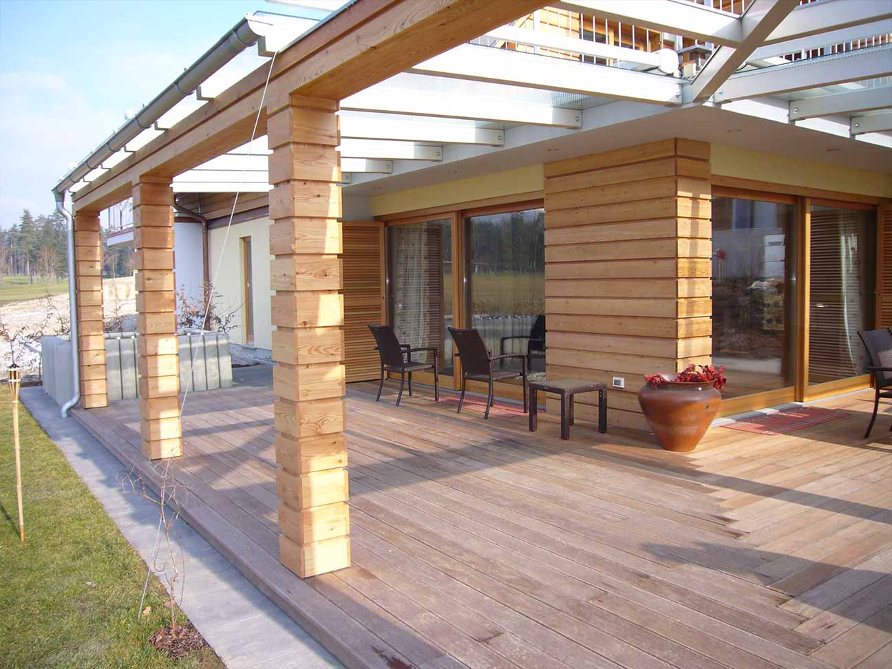 Terrasse holz dauerhaftigkeitsklasse - Moderne zimmerturen ...